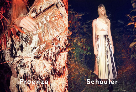 Campagne Proenza Schouler - Printemps/été 2014 - Photo 5