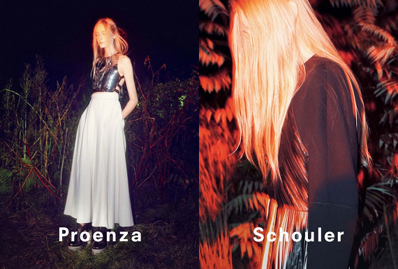 Campagne Proenza Schouler - Printemps/été 2014 - Photo 6