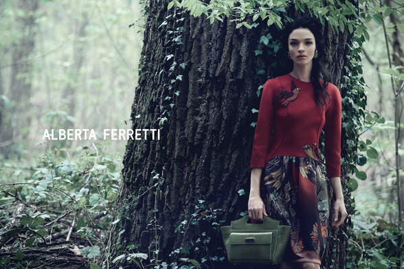 Campagne Alberta Ferretti - Automne/hiver 2014-2015 - Photo 1