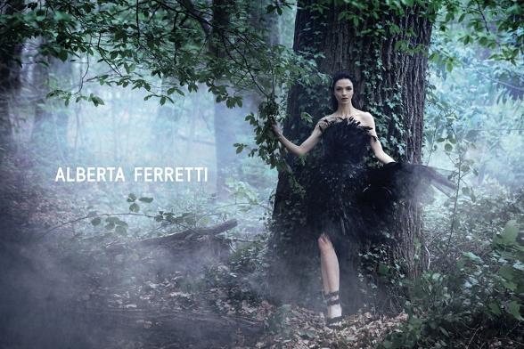 Campagne Alberta Ferretti - Automne/hiver 2014-2015 - Photo 2