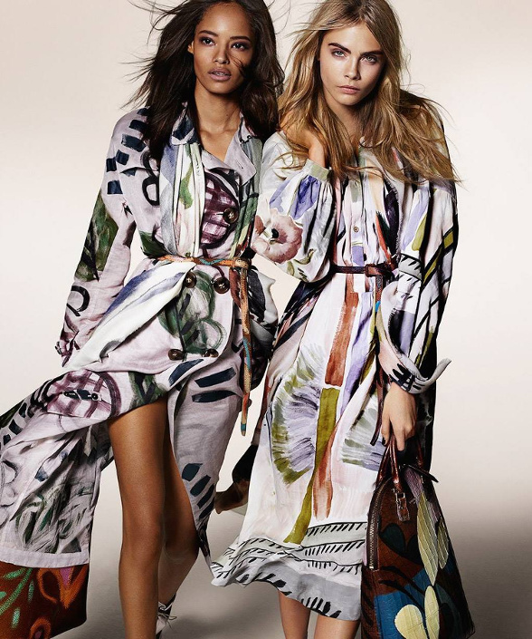 Campagne Burberry - Automne/hiver 2014-2015 - Photo 1