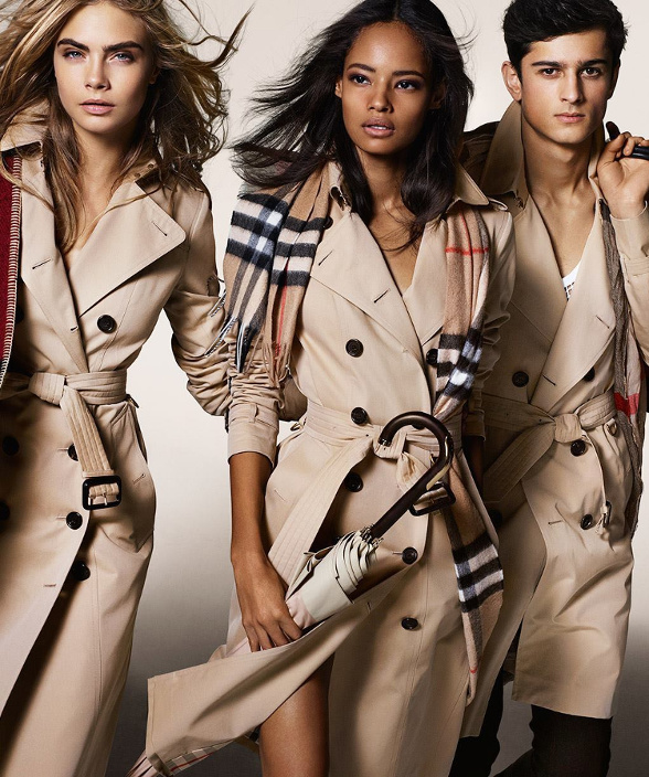 Campagne Burberry - Automne/hiver 2014-2015 - Photo 2