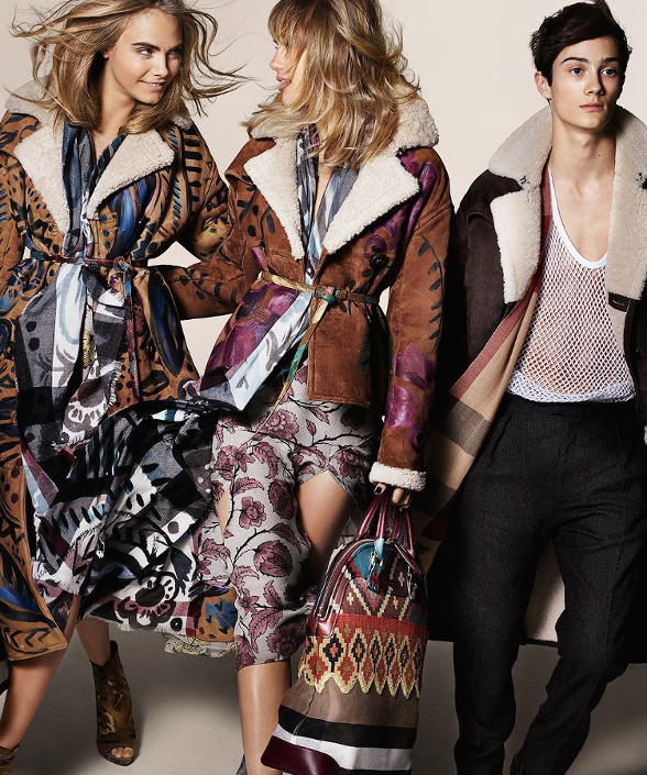 Campagne Burberry - Automne/hiver 2014-2015 - Photo 3