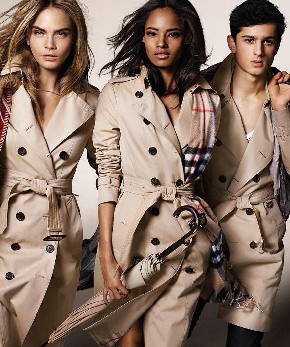 Campagne Burberry - Automne/hiver 2014-2015 - Photo 4