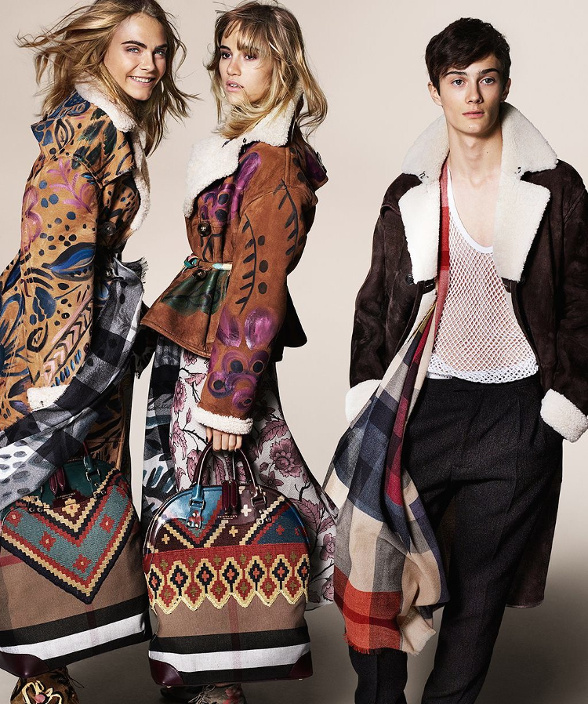 Campagne Burberry - Automne/hiver 2014-2015 - Photo 5