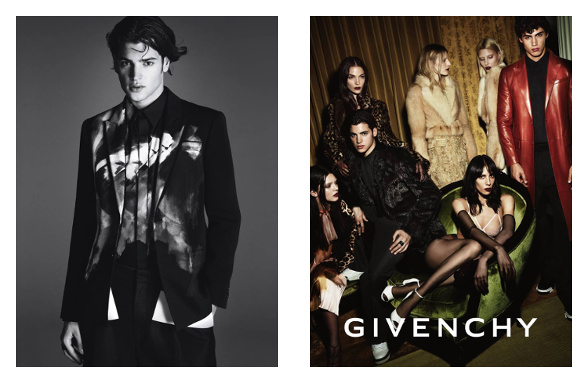Campagne Givenchy - Automne/hiver 2014-2015 - Photo 5