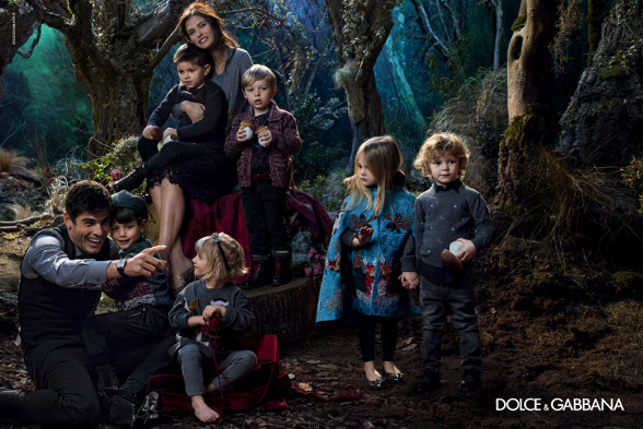 Campagne Dolce & Gabbana - Automne/hiver 2014-2015 - Photo 1