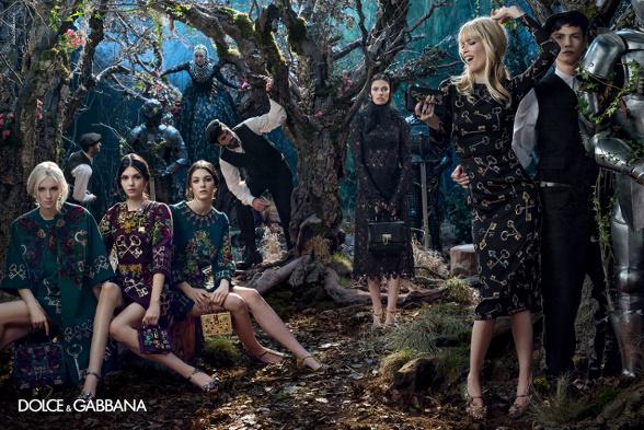 Campagne Dolce & Gabbana - Automne/hiver 2014-2015 - Photo 2