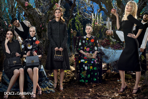 Campagne Dolce & Gabbana - Automne/hiver 2014-2015 - Photo 3