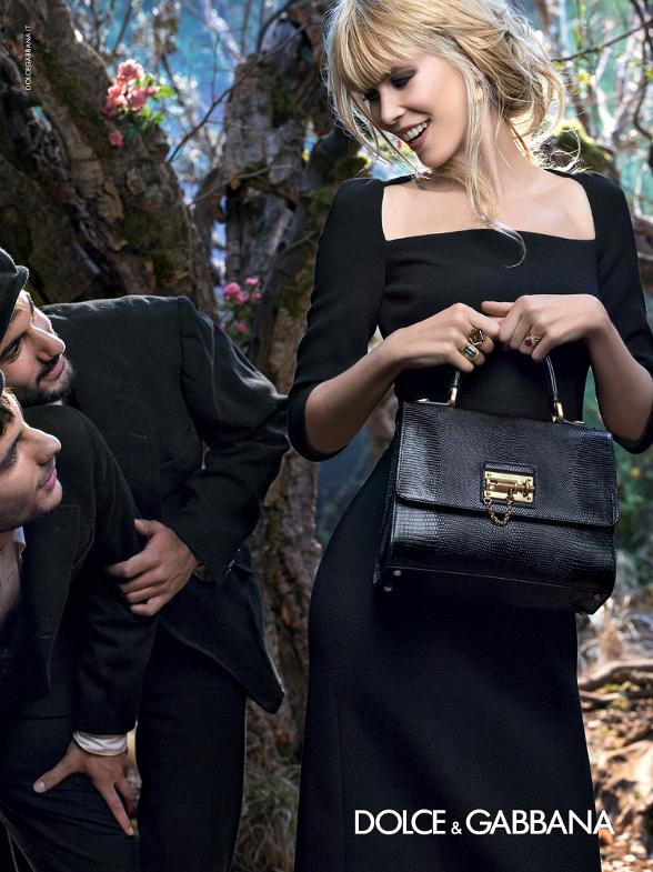 Campagne Dolce & Gabbana - Automne/hiver 2014-2015 - Photo 4