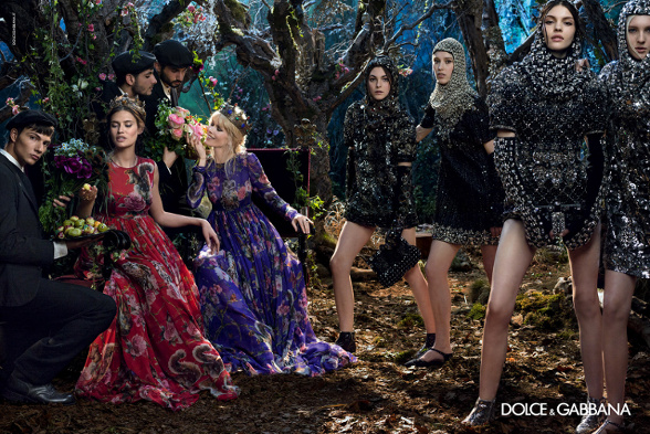 Campagne Dolce & Gabbana - Automne/hiver 2014-2015 - Photo 5