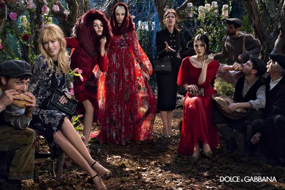 Campagne Dolce & Gabbana - Automne/hiver 2014-2015 - Photo 6