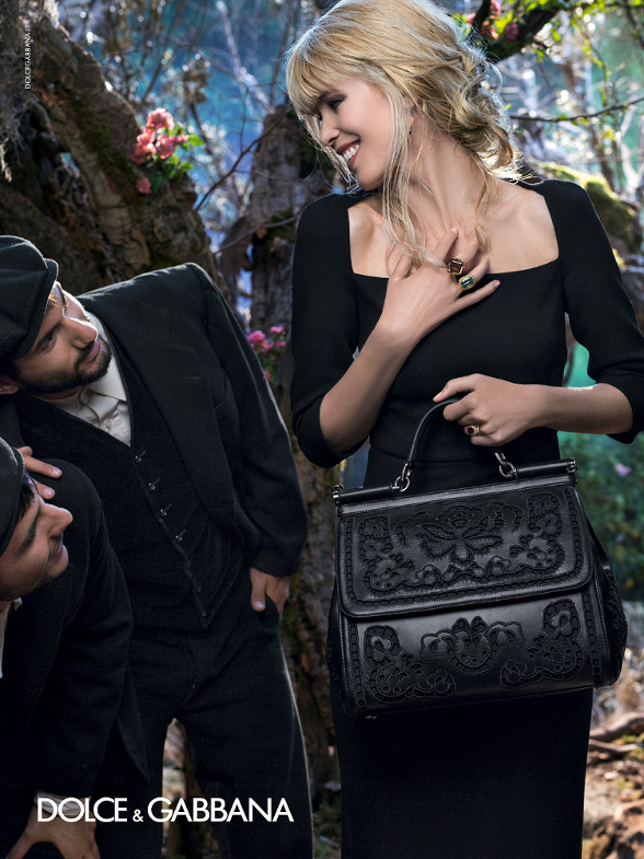 Campagne Dolce & Gabbana - Automne/hiver 2014-2015 - Photo 7