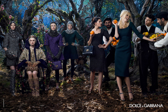 Campagne Dolce & Gabbana - Automne/hiver 2014-2015 - Photo 8