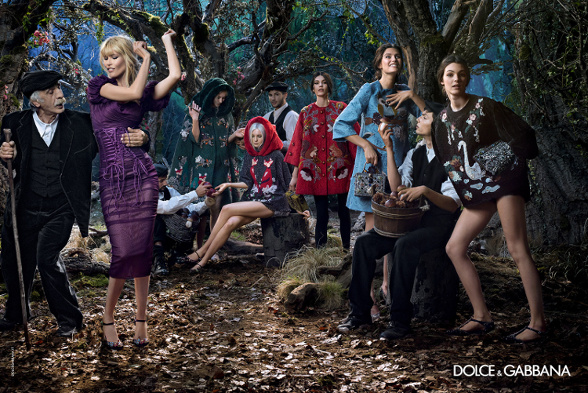 Campagne Dolce & Gabbana - Automne/hiver 2014-2015 - Photo 9