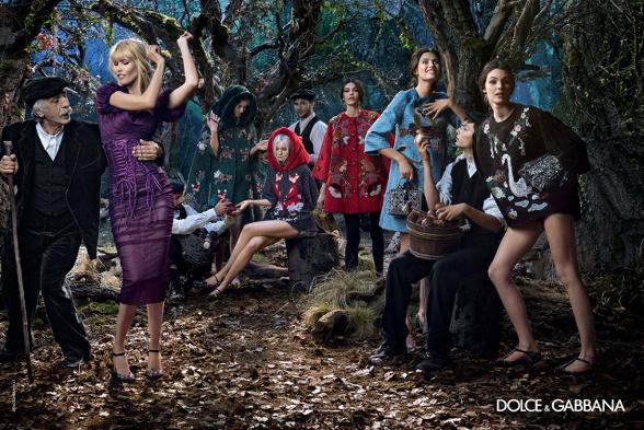 Campagne Dolce & Gabbana - Automne/hiver 2014-2015 - Photo 9