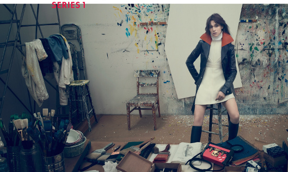 Campagne Louis Vuitton - Automne/hiver 2014-2015 - Photo 8