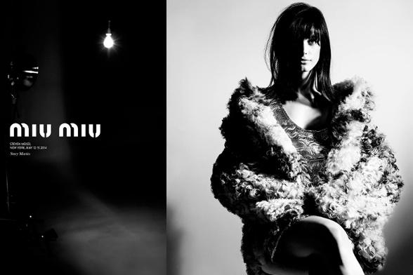 Campagne Miu Miu - Automne/hiver 2014-2015 - Photo 1