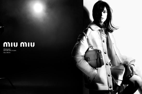 Campagne Miu Miu - Automne/hiver 2014-2015 - Photo 2