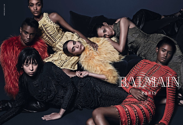 Campagne Balmain - Automne/hiver 2014-2015 - Photo 1