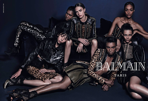 Campagne Balmain - Automne/hiver 2014-2015 - Photo 2