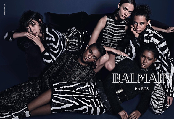 Campagne Balmain - Automne/hiver 2014-2015 - Photo 3