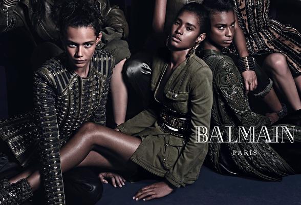 Campagne Balmain - Automne/hiver 2014-2015 - Photo 4