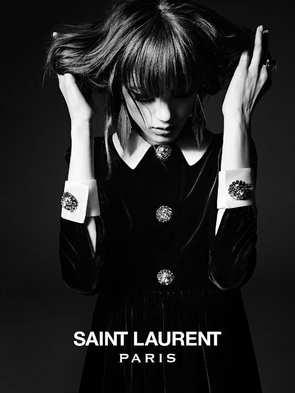 Campagne Saint Laurent - Automne/hiver 2014-2015 - Photo 1