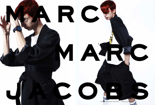Campagne Marc by Marc Jacobs - Automne/hiver 2014-2015 - Photo 1