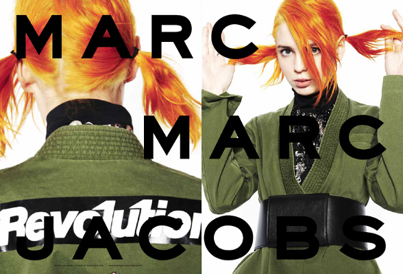 Campagne Marc by Marc Jacobs - Automne/hiver 2014-2015 - Photo 9