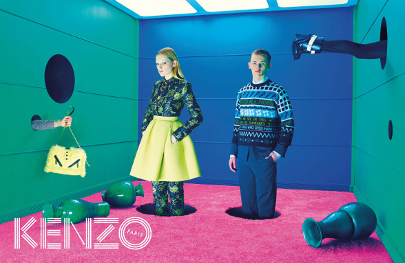 Campagne Kenzo - Automne/hiver 2014-2015 - Photo 1