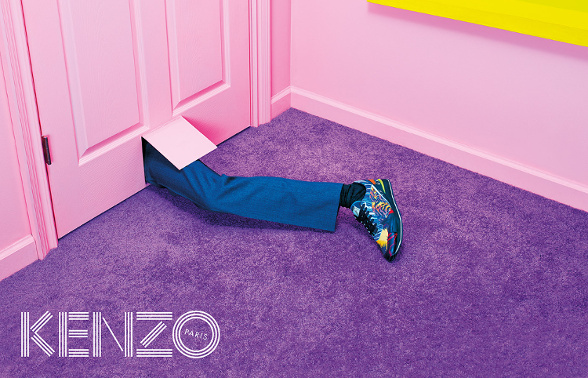 Campagne Kenzo - Automne/hiver 2014-2015 - Photo 2