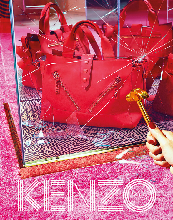 Campagne Kenzo - Automne/hiver 2014-2015 - Photo 3
