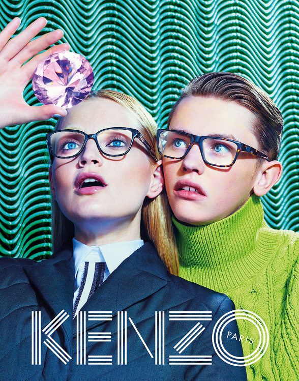 Campagne Kenzo - Automne/hiver 2014-2015 - Photo 4