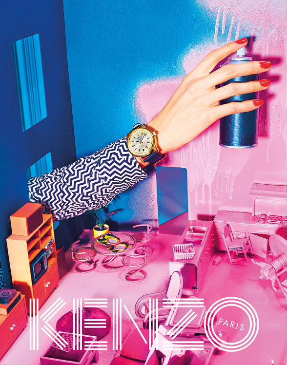 Campagne Kenzo - Automne/hiver 2014-2015 - Photo 7