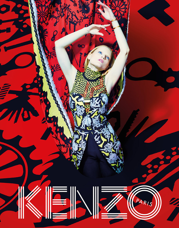 Campagne Kenzo - Automne/hiver 2014-2015 - Photo 10