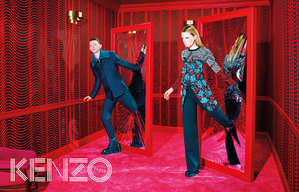 Campagne Kenzo - Automne/hiver 2014-2015 - Photo 11