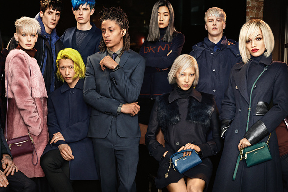 Campagne DKNY - Automne/hiver 2014-2015 - Photo 1