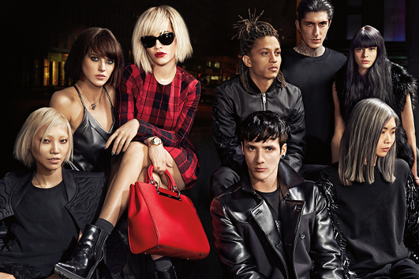 Campagne DKNY - Automne/hiver 2014-2015 - Photo 2