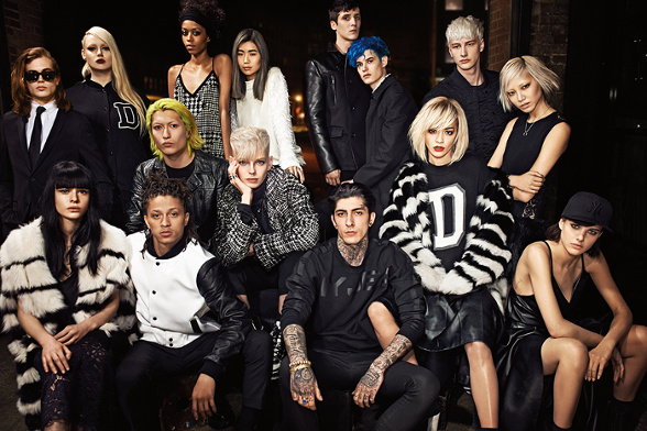Campagne DKNY - Automne/hiver 2014-2015 - Photo 3
