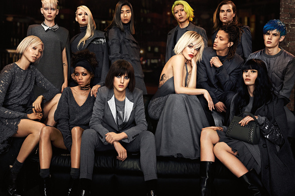 Campagne DKNY - Automne/hiver 2014-2015 - Photo 4