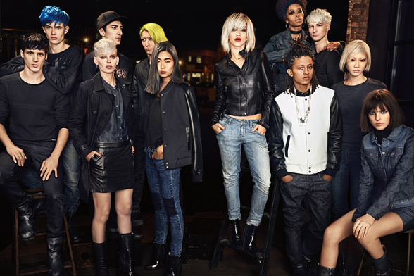 Campagne DKNY - Automne/hiver 2014-2015 - Photo 5