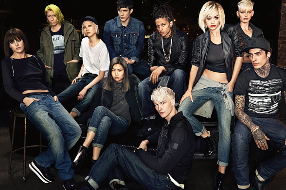 Campagne DKNY - Automne/hiver 2014-2015 - Photo 6