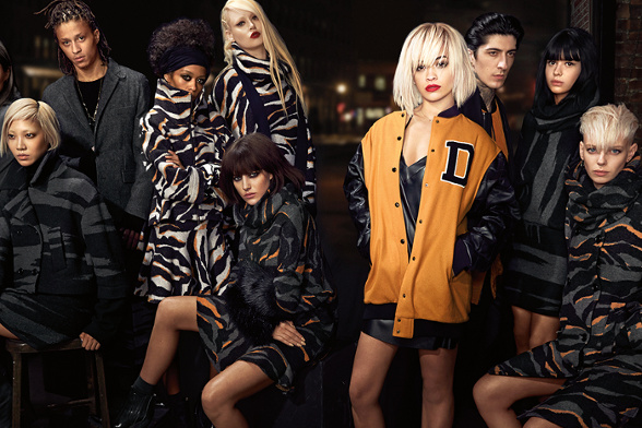 Campagne DKNY - Automne/hiver 2014-2015 - Photo 7