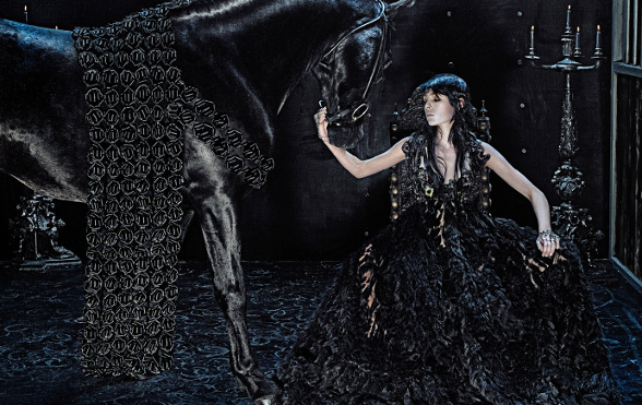 Campagne Alexander McQueen - Automne/hiver 2014-2015 - Photo 3