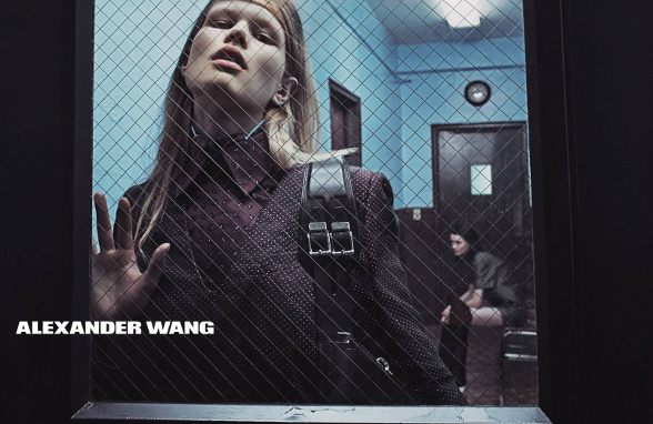 Campagne Alexander Wang - Automne/hiver 2014-2015 - Photo 1