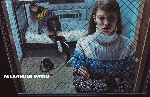 Campagne Alexander Wang - Automne/hiver 2014-2015 - Photo 2