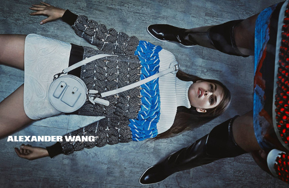 Campagne Alexander Wang - Automne/hiver 2014-2015 - Photo 3