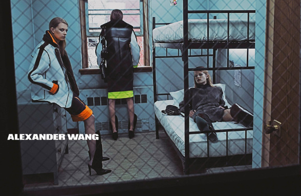 Campagne Alexander Wang - Automne/hiver 2014-2015 - Photo 4