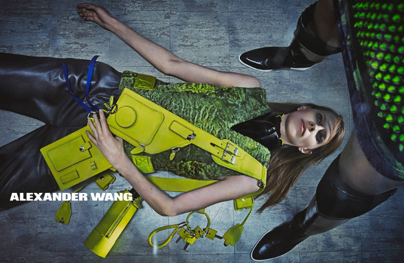 Campagne Alexander Wang - Automne/hiver 2014-2015 - Photo 5